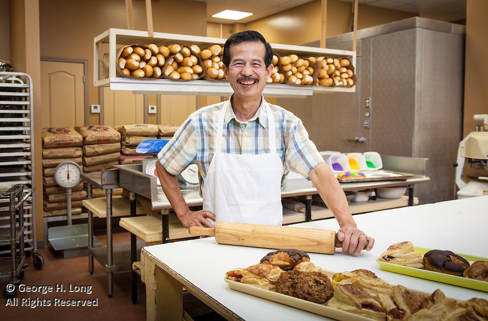 Ha-Cao-Do, owner of Hi Do Bakery in Terrytown, Louisiana