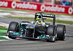 10.09.2011, Autodromo Nationale, Monza, ITA, F1, Grosser Preis von Italien, Monza, im Bild Nico Rosberg (GER), Mercedes GP Petronas F1 Team // during the Formula One Championships 2011 Italian Grand Prix held at the Autodromo Nationale, Monza, near Milano, Italy, 2011-09-10, EXPA Pictures © 2011, PhotoCredit: EXPA/ J. Feichter