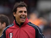Photo: Daniel Hambury.<br />Fulham v Boavista. Pre Season Friendly. 12/08/2006.<br />Fulham's manager Chris Coleman is happy.