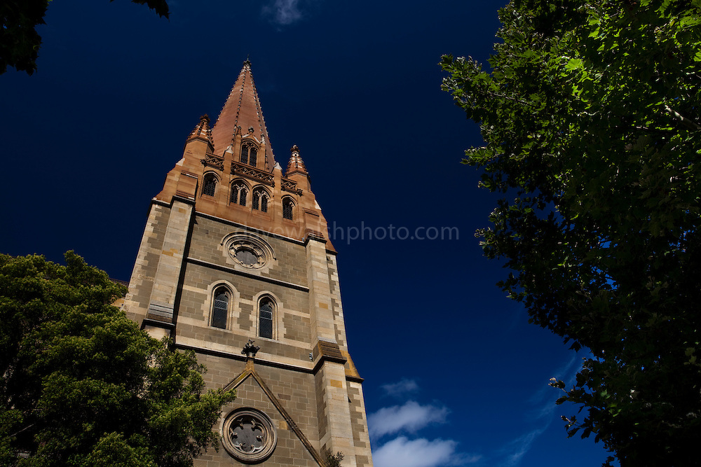 St. Paul's Cathedral, Melbourne, Australia, is an Anglican cathedral designed by various architects,  William Butterfield, John Barr and Joseph Reed