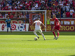 September 30, 2018 - Harrison, New Jersey, United States - Miguel Almiron (10) of Atlanta United FC controls ball during regular MLS game against Red Bulls at Red Bull Arena Red Bulls won 2 - 0 (Credit Image: © Lev Radin/Pacific Press via ZUMA Wire)