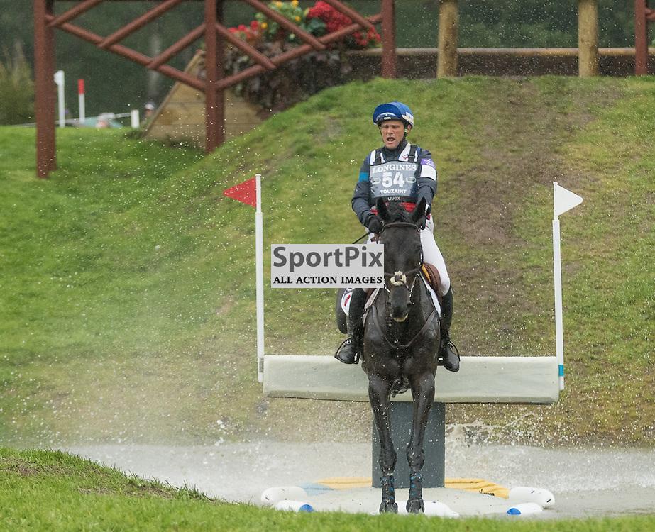 Nicolas Touzaint (FRA) on Radijague.  Longines FEI European Eventing Championship 2015, Blair Castle, 12th September 2015
