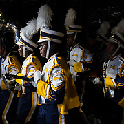E. E. Smith High School, of Fayetteville, NC walk through the tunnel onto the field during the Battle of the Bands bash during the Florida Classic weekend in Orlando, Fla. (Willie J. Allen Jr.)