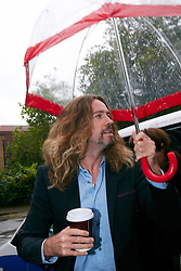 © Licensed to London News Pictures.  24/09/2012. St Albans, UK. Justin Lee Collins enters St Albans Crown Court today. He is charged with section 4 harassment (causing fear of violence) against his former girlfriend Anna Larke between January and July 2011. Photo credit :  Cliff Hide/LNP