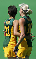 Lenise MARAIS and Shelley RUSSELL during the BDO Women's Champions Challenge 1 match between South Africa and Spain held at the Hartleyvale Stadium in Cape Town, South Africa on the 17 October 2009 ..Photo by RG/www.sportzpics.net.+27 21 (0) 21 785 6814