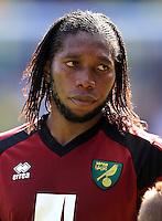 Norwich City's Dieumerci Mbokani