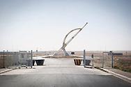 Erbil, Iraqi Kurdistan. The entrance of the new International Airport.