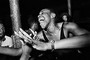 Eyvon at Talking Loud & Saying Something, Dingwalls, London, late 1980s / early 1990s.