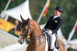 Donckers Karin, (BEL), Lamicell Unique<br /> Dressage - CIC3* - Luhmuhlen 2016<br /> © Hippo Foto - Jon Stroud