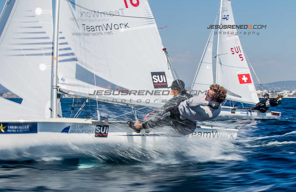 47 Trofeo Princesa Sofia IBEROSTAR, bay of Palma, Mallorca, Spain, takes<br /> place from 25th March to 2nd April 2016. Qualifier event for the Rio 2016<br /> Olympic Games. Over 800 boats and 1.000 sailors from to 68 nations<br /> &copy;Jesus Renedo/Sailing Energy/Sofia
