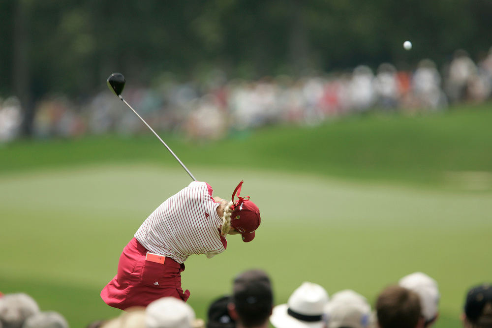 HAVRE DE GRACE , MARYLAND - JUNE 12, 2005<br /> Natalie GULBIS during the fourth round of the 2005  McDonald's LPGA Championship held at Bulle Rock golf course in Havre De Grace, Maryland.