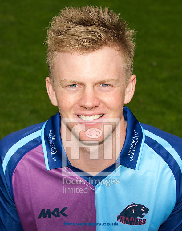 Sam Robson pictured in the Royal London One Day Cup playing strip during Middlesex County Cricket Club Media Day at Lord's, London<br /> Picture by Alan Stanford/Focus Images Ltd +44 7915 056117<br /> 31/03/2014