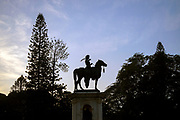 KADIRI, INDIA - 04th November 2019 - Statue of Chamaraja Wodeyar, Lalbagh Botanical Garden, Bangalore Bengaluru, Karnataka, India, South India