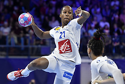 France player Orlane Kanor during the Women's european handball chanmpionship preliminary round, Slovenia vs France. Nancy, Fance -02/12/2018//POLEMILE_01POL20181202NAN020/Credit:POL EMILE / SIPA/SIPA/1812021731
