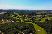 Nederland, Flevoland, Almere-Hout, 30-06-2011; Golfterrein bij Almere in de polder. .Golf Course at Almere in the polder..luchtfoto (toeslag), aerial photo (additional fee required).copyright foto/photo Siebe Swart
