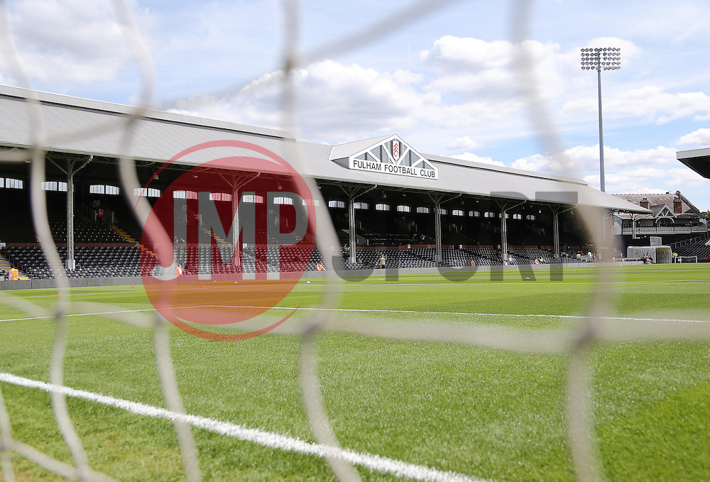 A view of the stadium - Mandatory by-line: Paul Terry/JMP - 07966386802 - 01/08/2015 - SPORT - FOOTBALL - Fulham,England - Craven Cottage - Fulham v Crystal Palace - Pre-Season Friendly
