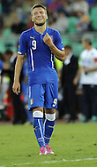 Ciro Immobile of Italy during the International Friendly match at Stadio San Nicola, Bari<br /> Picture by Stefano Gnech/Focus Images Ltd +39 333 1641678<br /> 04/09/2014