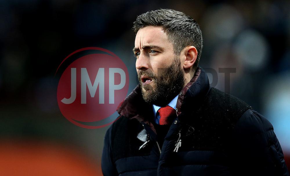 Bristol City head coach Lee Johnson - Mandatory by-line: Robbie Stephenson/JMP - 28/02/2017 - FOOTBALL - Villa Park - Birmingham, England - Aston Villa v Bristol City - Sky Bet Championship