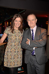 Ian Hislop & Victoria Hislop at the Costa Book of The Year Awards held at Quaglino's, 16 Bury Street, London England. 31 January 2017.