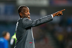Manager Chris Powell of Huddersfield points - Photo mandatory by-line: Rogan Thomson/JMP - 07966 386802 - 16/09/2014 - SPORT - FOOTBALL - Huddersfield, England - The John Smith's Stadium - Huddersfield Town v Wigan Athletic - Sky Bet Championship.