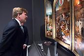 Koning opent de tentoonstelling Jheronimus Bosch