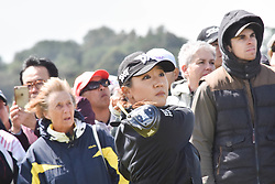 October 1, 2017 - Auckland, Auckland, New Zealand - New Zealand's Lydia Ko tees off during final round of the MCKAYSON New Zealand Women's Open at Windross Farm in Auckland, New Zealand on Oct1, 2017. Featuring World Number One Lydia Ko,TheMCKAYSONNew Zealand Women's Open is the first ever LPGA Tour event to be played in New Zealand. (Credit Image: © Shirley Kwok/Pacific Press via ZUMA Wire)