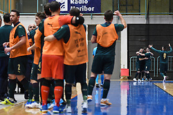 Italian players during futsal friendly match between National teams of Slovenia and Italy, on December 3, 2019 in Maribor, Slovenia. Photo by Milos Vujinovic / Sportida