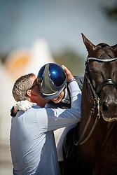 Fry Charlotte, GBR, Glamourdale, Van Olst Gert Jan<br /> World ChampionshipsYoung Dressage Horses<br /> Ermelo 2018<br /> © Hippo Foto - Dirk Caremans<br /> 05/08/2018