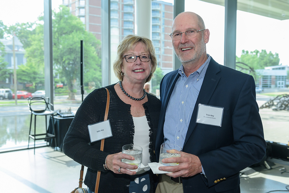 Sally and Tom Hoy at the 10-year anniversary celebration of Republic Bank's Private Banking and Business Banking divisions Wednesday, May 17, 2017, at the Speed Art Museum in Louisville, Ky. (Photo by Brian Bohannon)