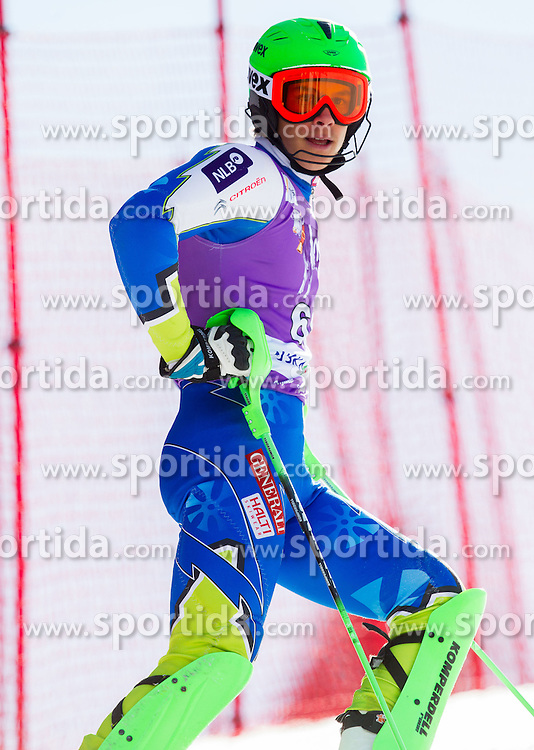 KRANJEC Zan  of Slovenia did not finish during 1st Run of Men's Slalom - Pokal Vitranc 2012 of FIS Alpine Ski World Cup 2011/2012, on March 11, 2012 in Vitranc, Kranjska Gora, Slovenia.  (Photo By Vid Ponikvar / Sportida.com)