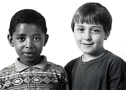 Two boys UK 1990s