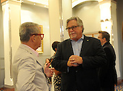 Micky Arison, Chairman, Carnival Corporation &amp; PLC, the<br /> speaks about the remastered Queen Mary 2, Wednesday, July 6, 2016, at Brooklyn Cruise Terminal in New York, its U.S. homeport.  The Queen Mary 2 spent 25 days in dry dock and a refit that cost in the region of $132 million, renovating its staterooms, restaurants and public areas.  (Diane Bondareff/AP Images for Cunard)