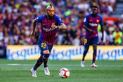 Arturo Vidal from Chile during the Joan Gamper trophy game between FC Barcelona and CA Boca Juniors in Camp Nou Stadium at Barcelona, on 15 of August of 2018, Spain, Photo Xavier Bonilla / SpainProSportsImages / DPPI / ProSportsImages / DPPI