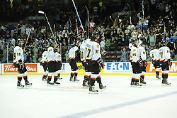 Action from Game 2 of the 2011 MasterCard Memorial Cup between the Owen Sound Attack and Kootenay Ice in Mississauga, ON on Saturday May 21,2011. Photo by Aaron Bell/CHL Images