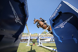 Tebbel Maurice, (GER), Chacco's Son<br /> Longines Global Champions Tour - Grand Prix of Hamburg<br /> Hamburg - Hamburger Derby 2016<br /> © Hippo Foto - Stefan Lafrentz
