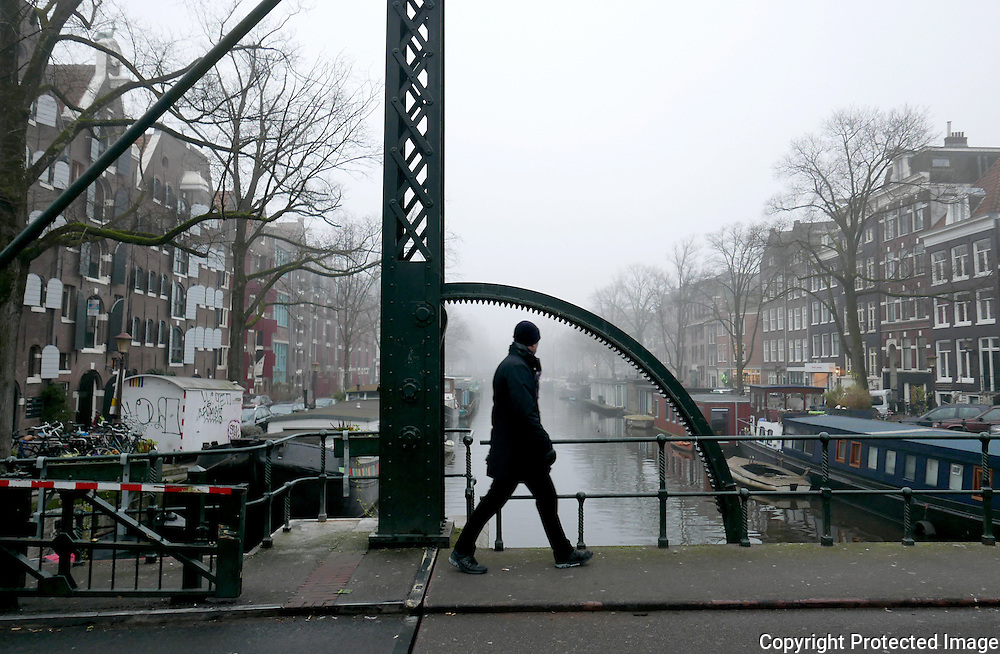 January 24, 2017 - 16:59<br /> The Netherlands, Amsterdam - Brouwersgracht