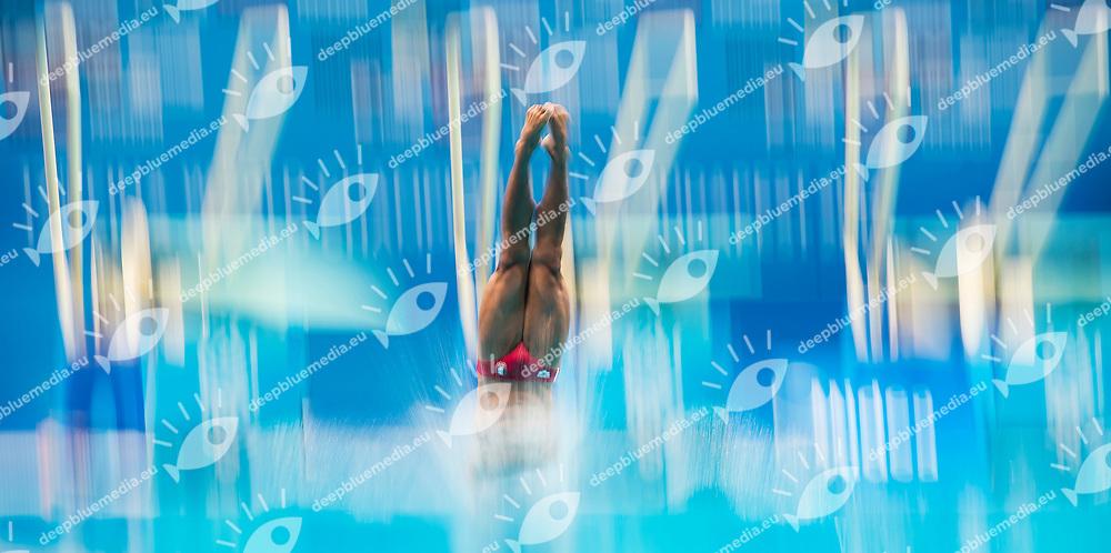 OCAMPO MARROQUIN MEX<br /> Diving<br /> Men's 1m springboard final<br /> 16/07/2017 <br /> XVII FINA World Championships Aquatics<br /> Duna Arena<br /> Photo @ Giorgio Perottino/Deepbluemedia/Insidefoto
