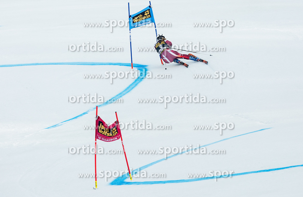 Nina Loeseth (NOR) competes during 7th Ladies' Giant slalom at 52nd Golden Fox - Maribor of Audi FIS Ski World Cup 2015/16, on January 30, 2016 in Pohorje, Maribor, Slovenia. Photo by Vid Ponikvar / Sportida
