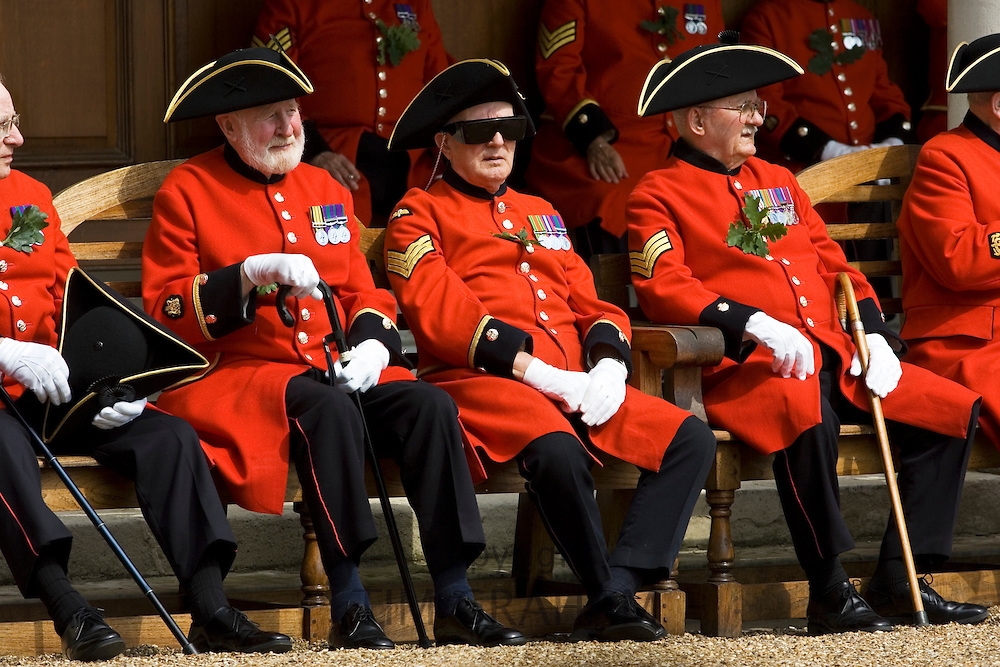 Chelsea Pensioners, London, United Kingdom