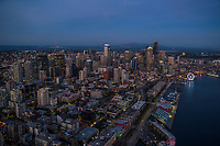 Belltown (foreground) & Seattle Waterfront