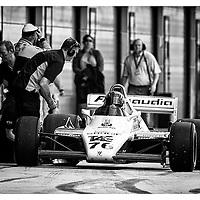 #76, Williams FW08 (1982), Richard Eyre (GB), Silverstone Classic 2015, FIA Masters Historic Formula One. 25.07.2015. Silverstone, England, U.K.  Silverstone Classic 2015.