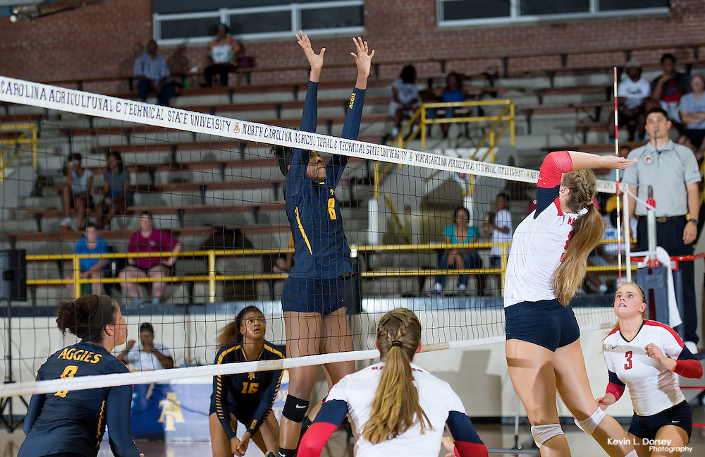 2016 A&T Volleyball vs Radford