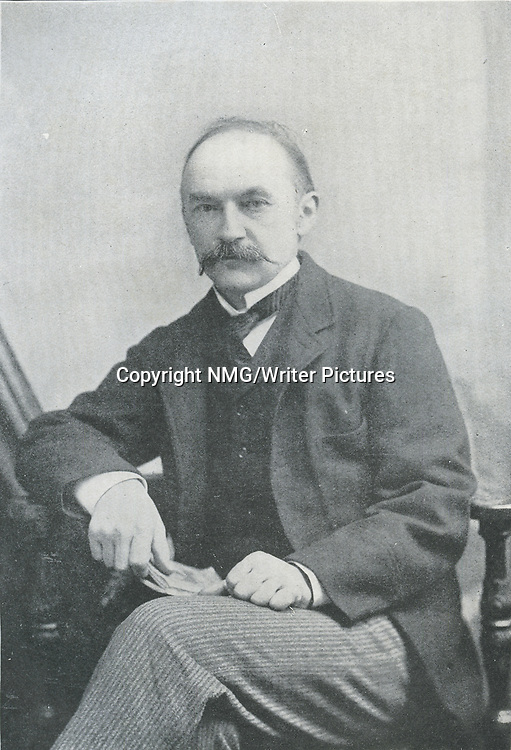Thomas Hardy, English novelist, and poet<br /> <br /> Copyright NMG/Writer Pictures<br /> WORLD RIGHTS