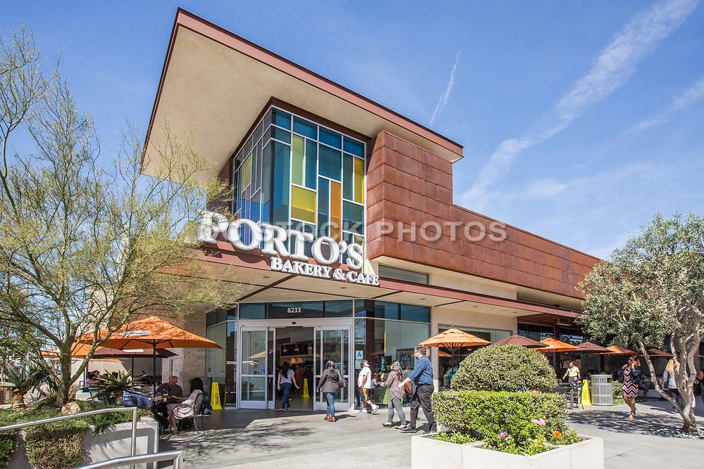 Porto's Bakery & Cafe at Firestone Blvd in Downey California