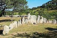 Tombe des geants de Pascaredda dans les environs de Tempio Pausania. Sardaigne. Italie. // Tomba dei Giganti di Pascaredda (the Giants' Tomb) around Tempio Pausania. Sardinia. Italy.