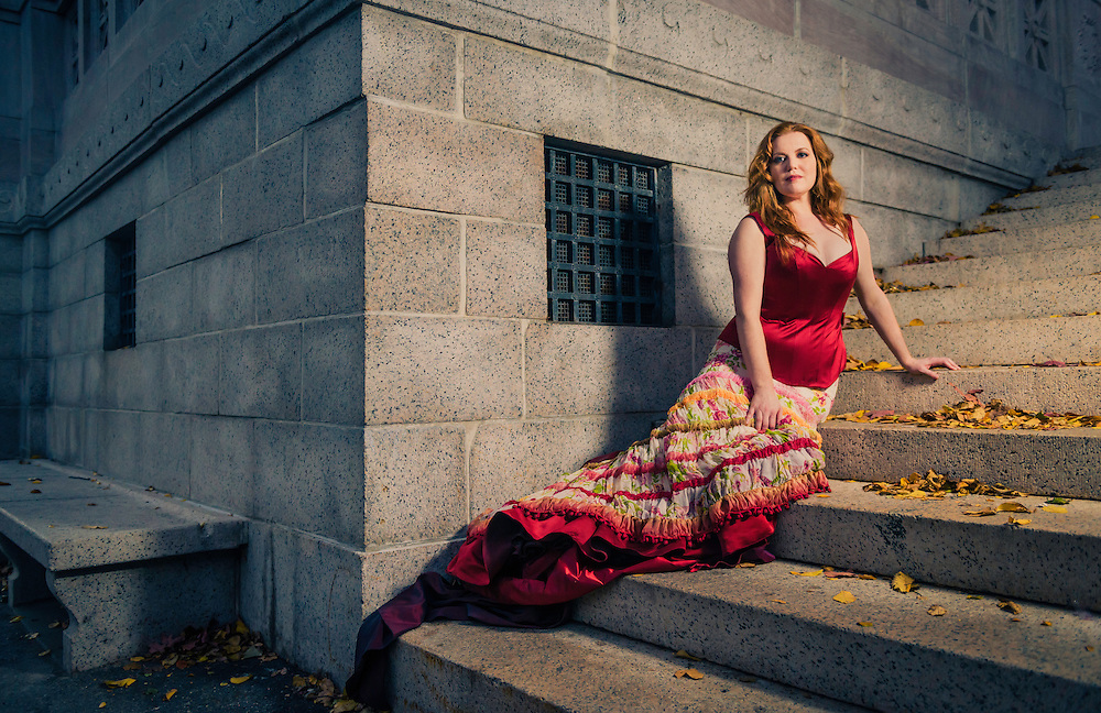Soprano Jennifer Johnson Cano for the Boston Lyric Opera's production of 'Carmen'