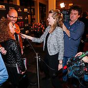 "NLD/Tilburg/20130114 - Premiere Ruth Jaccot "" A Lady on Stage"", Maik de Boer word geinteviewd"