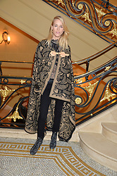 LADY MARY CHARTERIS at a party to celebrate the publication of 'Have I Said Too Much' by Carole White held at the Cafe Royal, Regents Street, London on 18th February 2015.