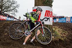 Christine Vardaros (USA), Women, Cyclo-cross World Cup Hoogerheide, The Netherlands, 25 January 2015, Photo by Thomas van Bracht / PelotonPhotos.com