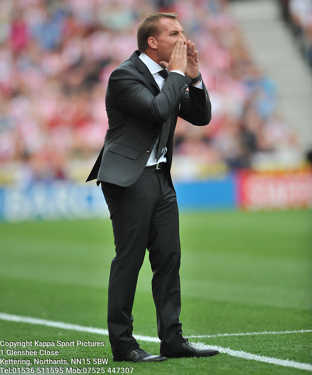 BRENDAN RODGERS MANAGER LIVERPOOL, Liverpool FC, Stoke City v Liverpool, Premiership, Britannia Stadium Sunday 9th August 2015Stoke City v Liverpool, Premiership, Britannia Stadium Sunday 9th August 2015